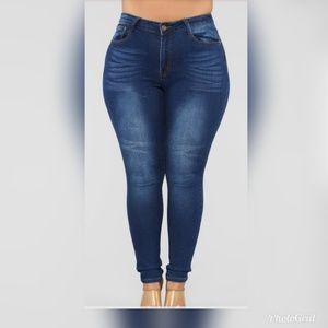 Skinny Jeans- Dark Denim